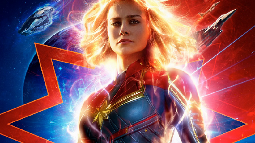 Captain Marvel delivers compelling story with impressive