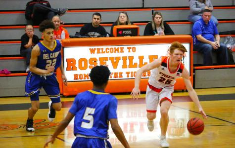 Senior Dylan Ranallo is one of the returning athletes  on the varsity boys basketball team. After losing last year's league MVP Jaylen Solich, Ranallo and others must fill the void he left.