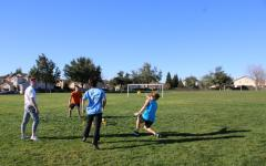 Students host Spike Ball tournament, build community