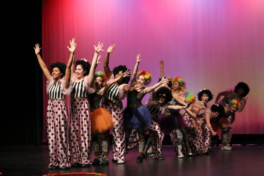 Students perform in Roseville High's Dance Show. The spring dance show will be cancelled this year due to school closures.