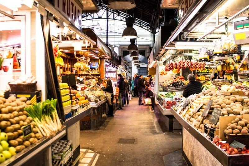 La Boqueria Early morning by EOFT