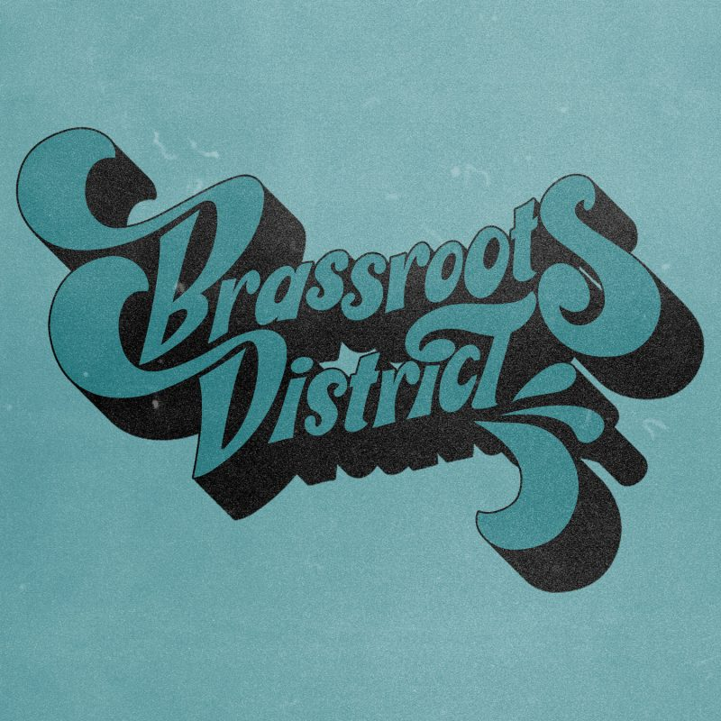 Logo of the Brassroots District from their album cover.