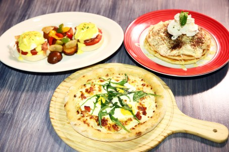 Weekday brunch selections (Courtesy of Amaroni's)