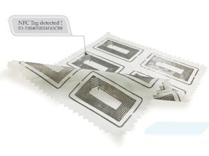 Fabric-based NFC Tag