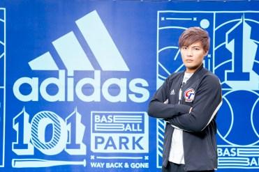 2. adidas簽約球星、MLB匹茲堡海盜隊投手王維中擔任「adidas 101棒球公園」開幕嘉賓
