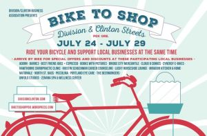 bike to shop optometrist office