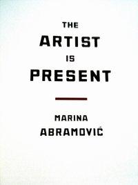 Marina Abramovic at MoMA