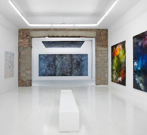 """Painting """"..."""" at the Hole NYC, ETTD"""