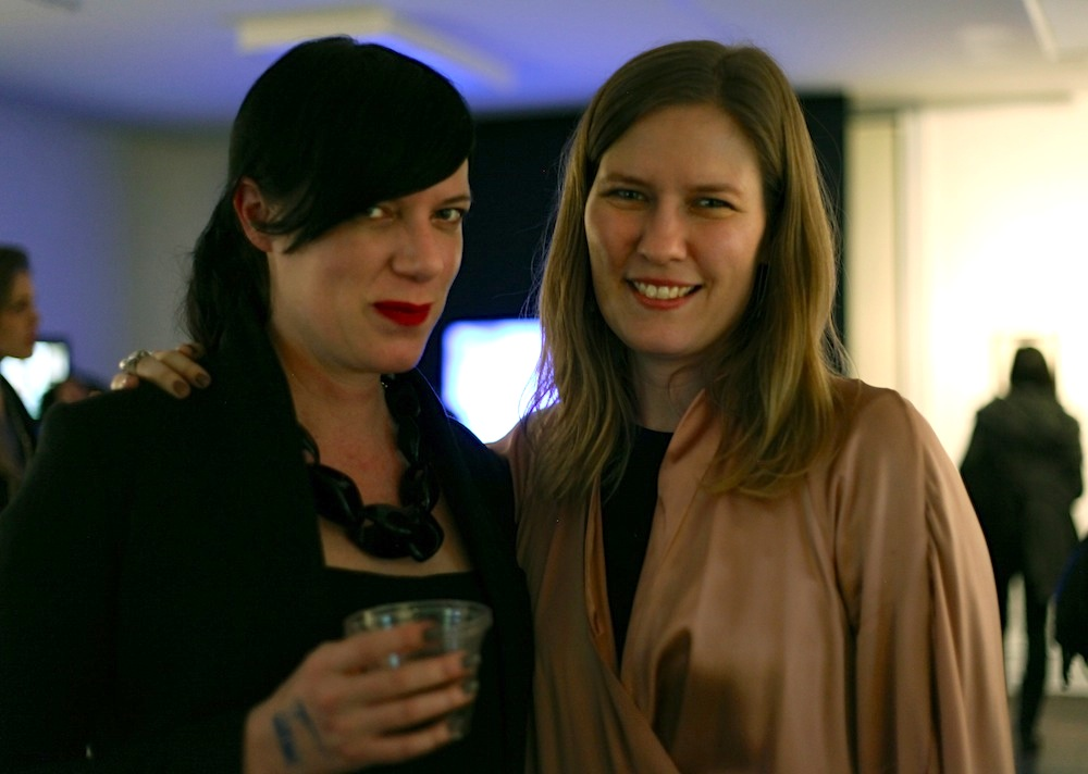 "SPRING/BREAK, 2014, ""Sun That Never Sets' Opening night Rachel Rampleman and Vanessa Albury"