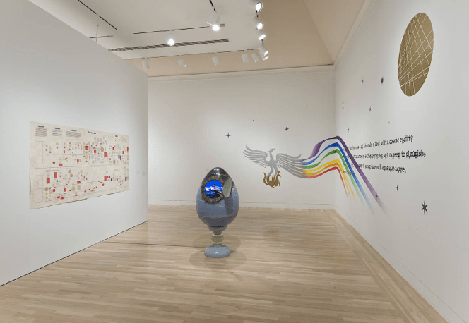 Made in LA, Installation view at the Hammer Museum, Photograph by Brian Forrest, 2014
