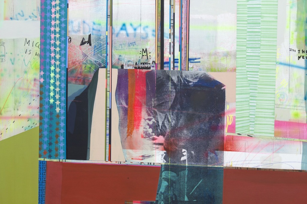 Kirsten Schiele, Cat Wolf (detail), 2014, Spirit Girls, Lu Magnus, New York. Image courtesy of the artist.