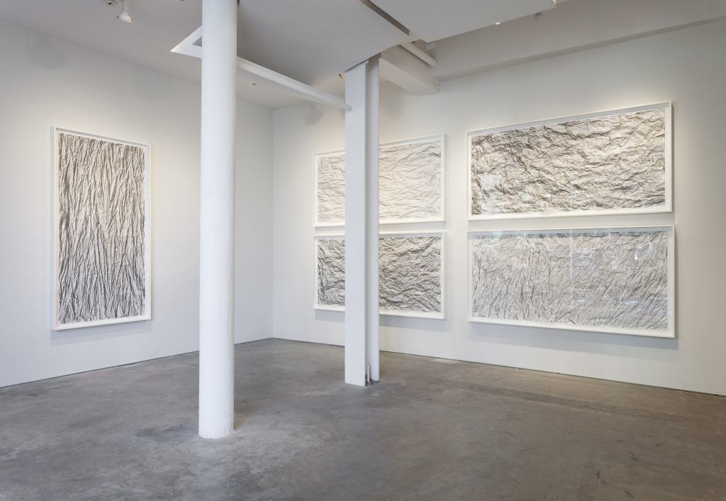 Allison Shotz, ______, Installation view at Caroiline Nitcsh Gallery, New York, 2014, Photograph courtesy of the gallery