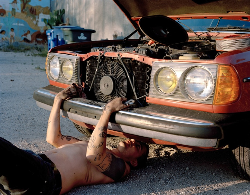 Justine Kurland, 280 Coup, 2012, Inkjet print, (edition of 6), Mitchell-Innes & Nash, New York, 2014. Image  courtesy of the artist and the gallery.