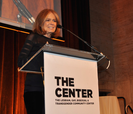 Honoree Gloria Steinem, The Center, Women's Event 17, Photograph by Allyson Howard, 2014