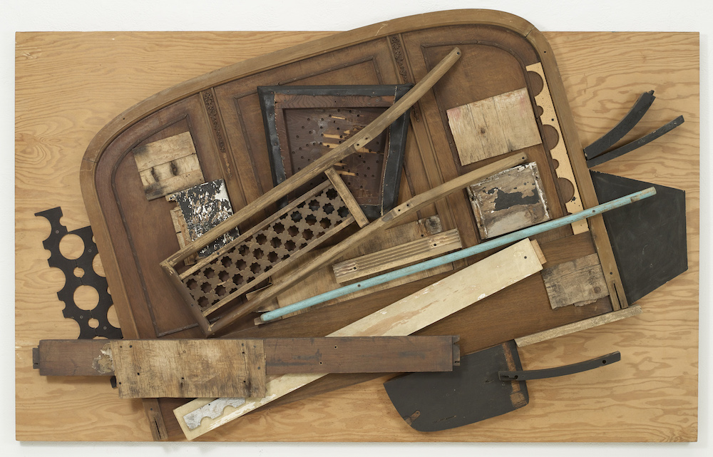 Louise Nevelson, Untitled, 1985, Paint, vinyl and wood, Image courtesy of Pace Gallery, NY