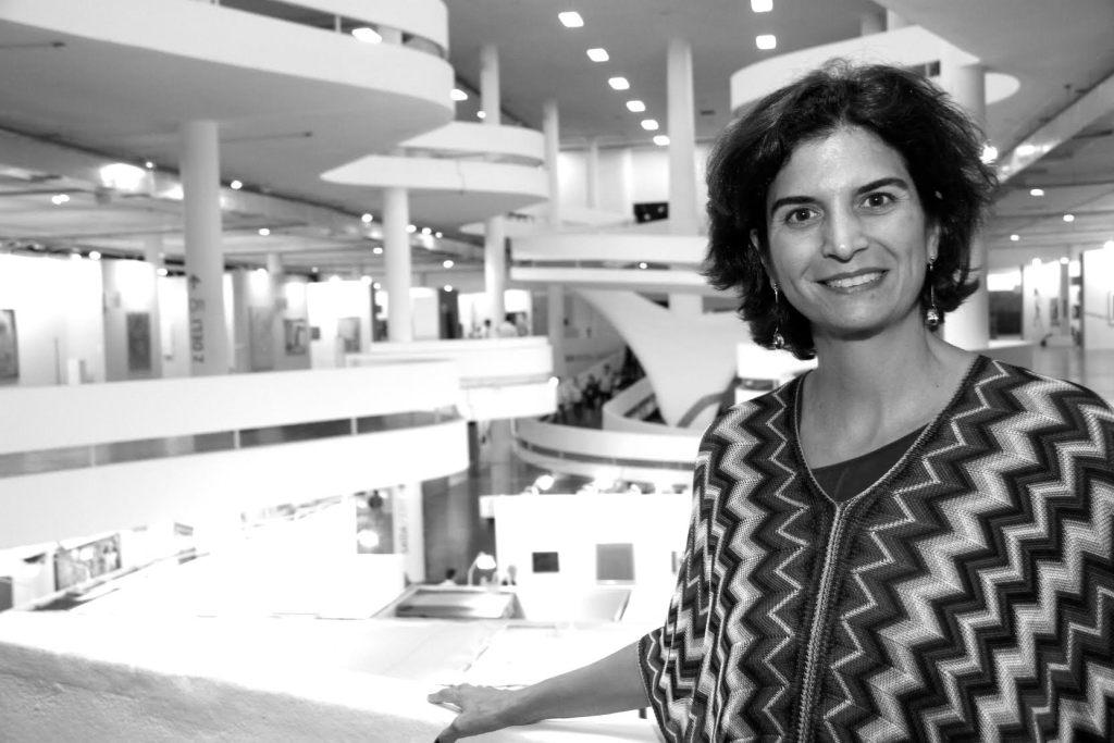 Founding Director of SP-Arte, Fernanda , Image courtesy of SP-Arte