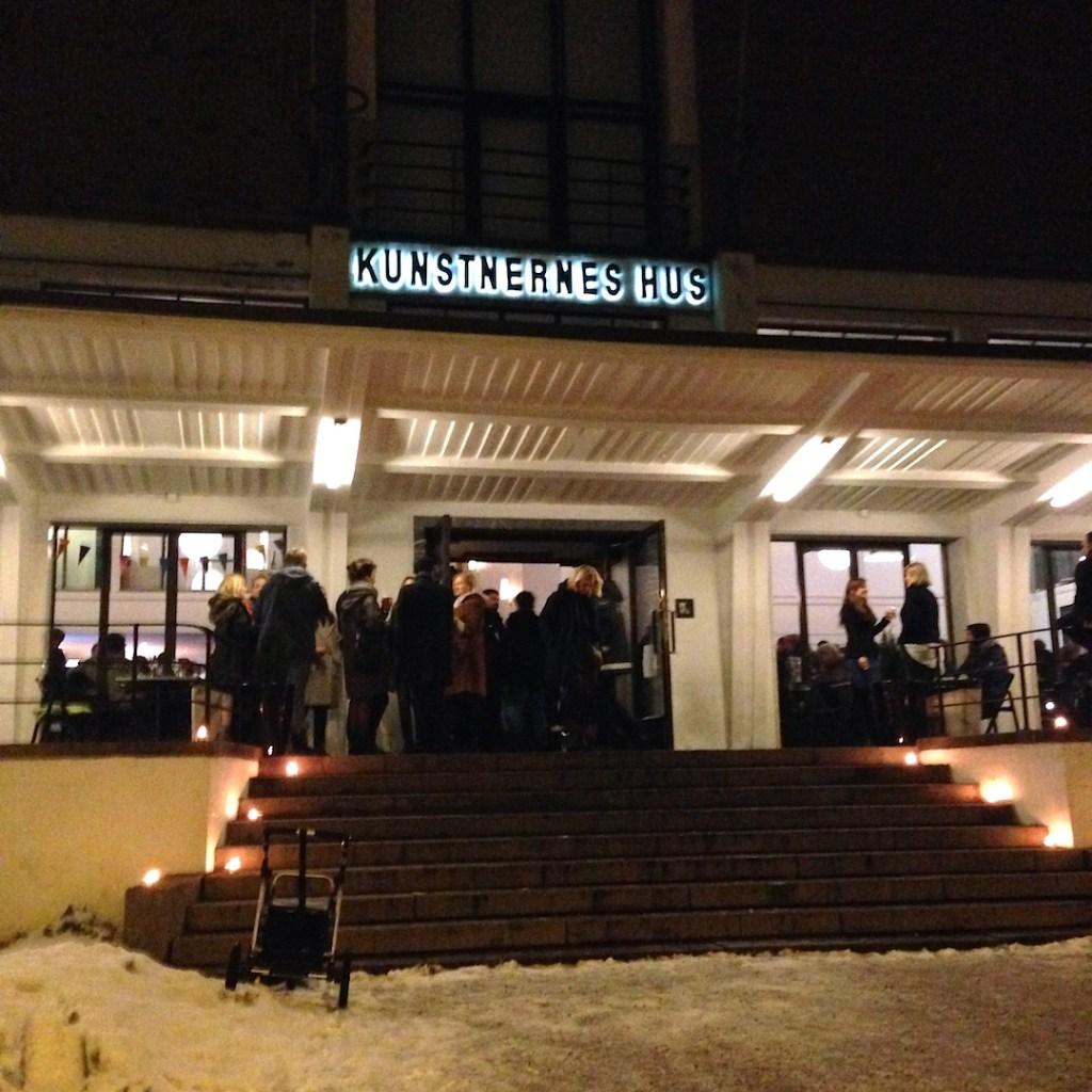 Exterior view, Kunstnernes Hus, Oslo, Photograph by Katy Hamer