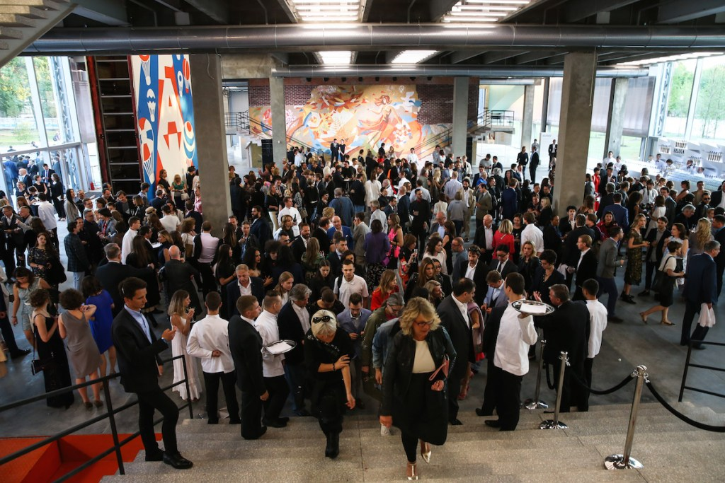 Garage Museum-atmosphere, Opening of the Garage Museum of Contemporary Art, Moscow, Image courtesy of BFA, 2015