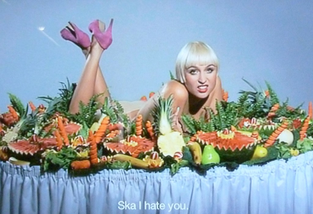 """Ska I hate You"", DVD, 2009, Image courtesy of the artist"