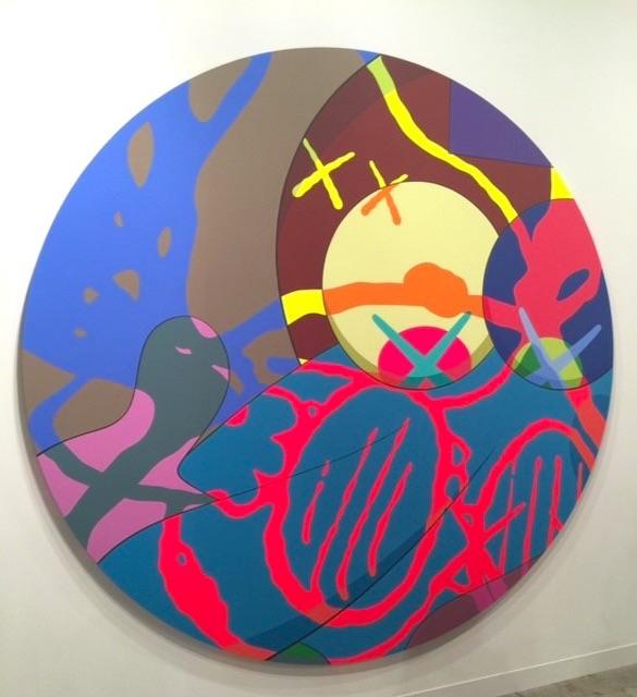 KAWS, Galerie Perrotin,
