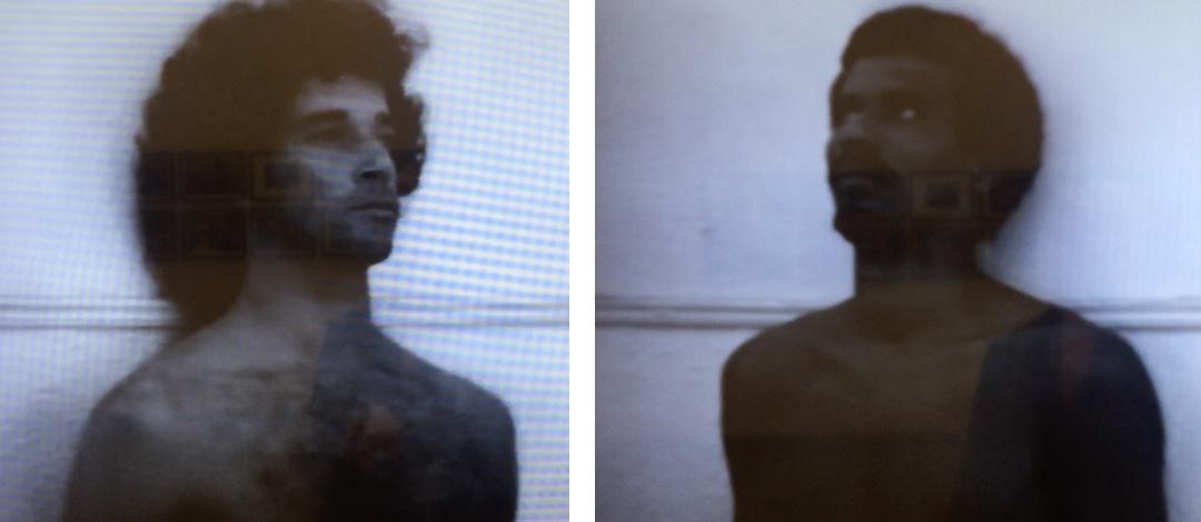 Versus, Digital composite from video stills made by Katy Hamer