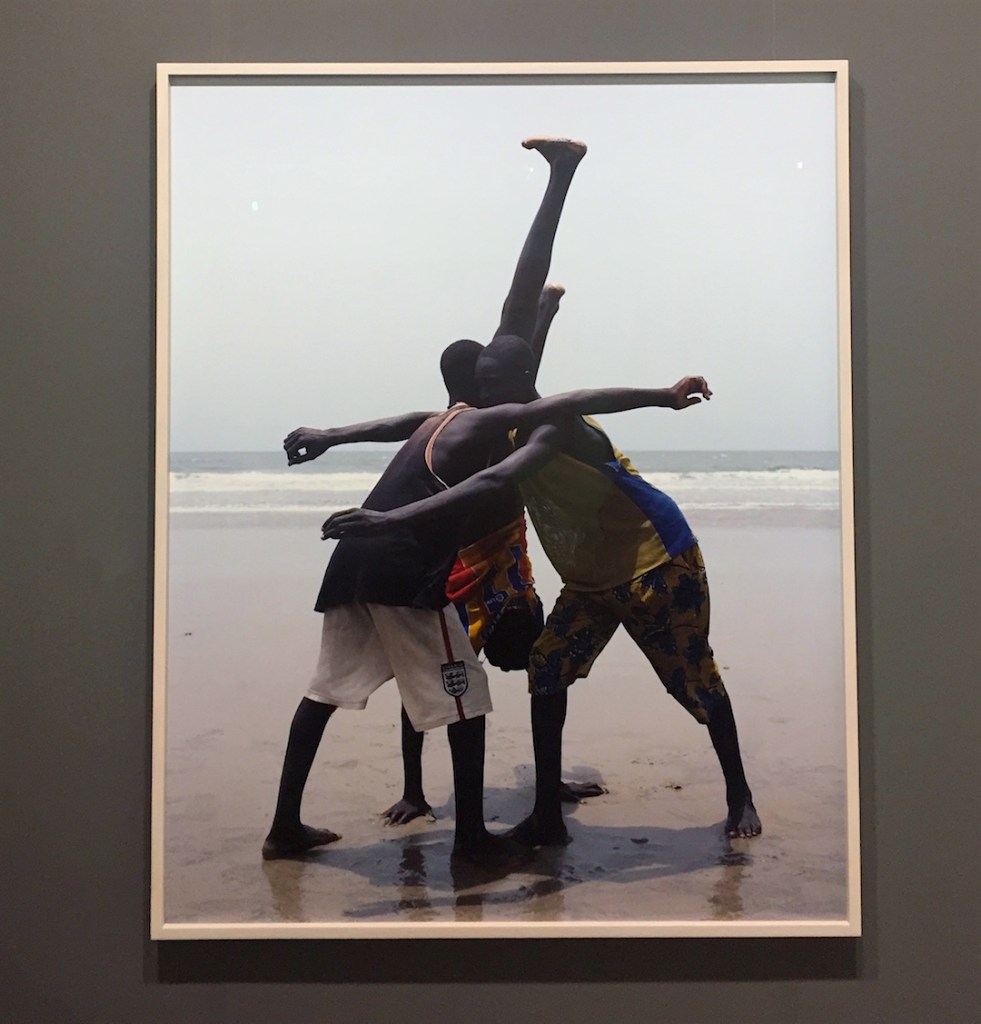 Viviane Sassen, Annas, 2007, Chromogenic print, from an edition of 5 with 2 AP's, Courtesy of Pace/MacGill, New York, Art Basel Miami, 2016, Photograph Katy Hamer