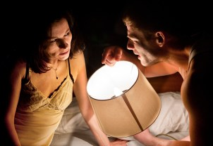 Kate Fleetwood and James Norton in Bug