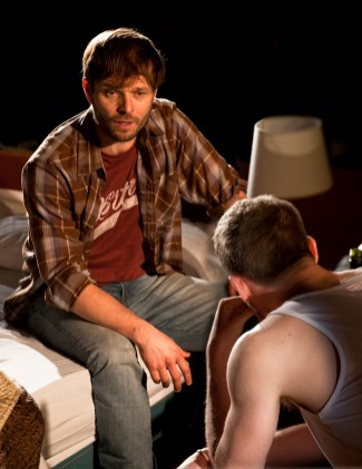 Alec Newman and James Norton in Bug