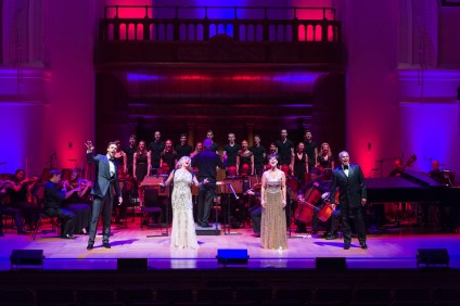 The dress rehearsal of 'Some Enchanted Evening', A Musical Celebration of the Hits of Broadway Legend Richard Rodgers, at Cadogan Hall, Sloane Terrace, London, SW1X 9DQ, Box Office: 020 7730 4500, www.cadoganhall.com Performances- Thursday 18 August 2016, 7.30pm - Saturday 20 August 2016, 7.30pm Starring Lesley Garrett, Ruthie Henshall, Michael Xavier and Gary Wilmot with the Royal Philharmonic Concert Orchestra. Oklahoma!, The Sound Of Music, Carousel, The King and I, South Pacific, Babes In Arms, Cinderella, State Fair, On Your Toes… Enjoy classic songs from these great musicals such as The Lady is a Tramp, My Funny Valentine, Climb Every Mountain, You'll Never Walk Alone, Oh What a Beautiful Mornin', Edelweiss, Shall We Dance?, There is Nothing Like a Dame, Do-Re-Mi, Bewitched, Bothered and Bewildered … and many, many more!