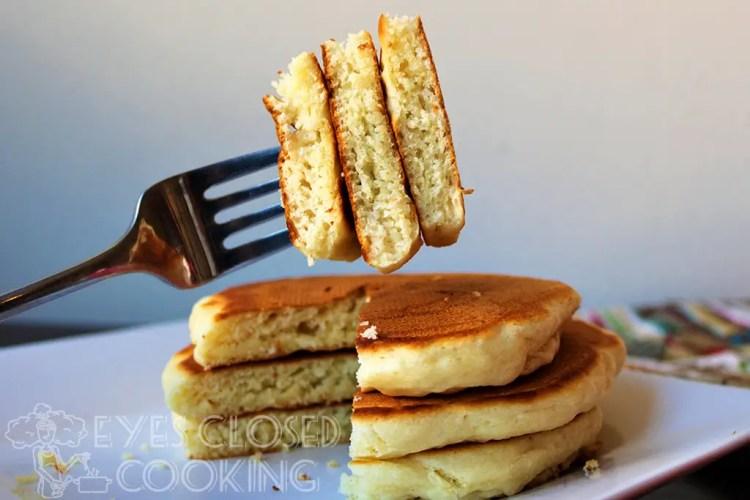 Secret to Fluffy Pancakes
