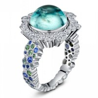 Exquisite Diamonds and Precious Gemstones Come to Life in Enchanting Jewelry Creations by Andrew Geoghegan