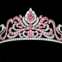 The Gorgeous Linneys' Pink Diamond Tiara