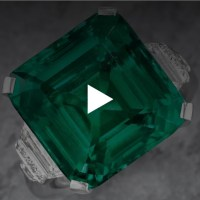 The Rockefeller Emerald: An emerald and diamond ring by Raymond C. Yard