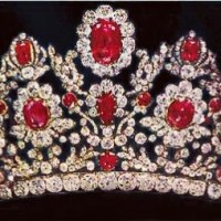The Duchess of Angoulême Ruby and Diamond Tiara