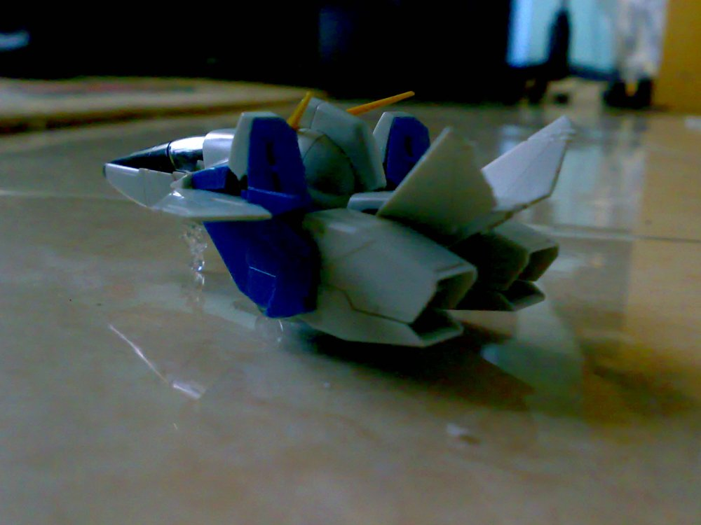 1/100 MG Victory ver Ka WIP [Core Fighter] (2/2)