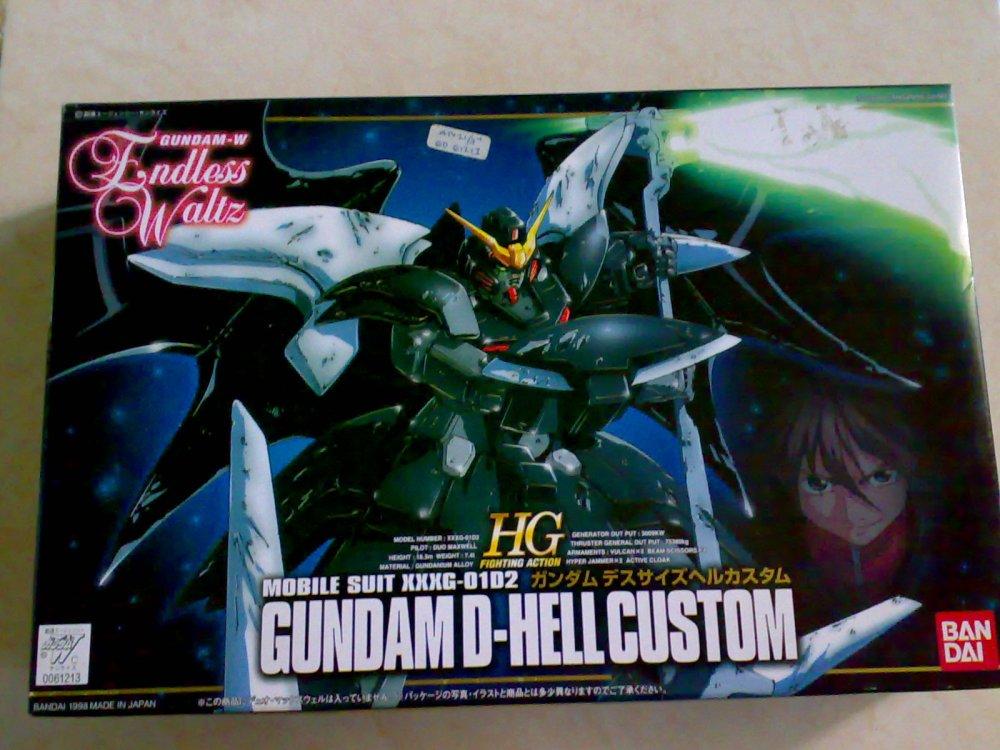 1/144 HG(FA) XXXG-01D2 Gundam Deathscythe Hell Custom (1/6)