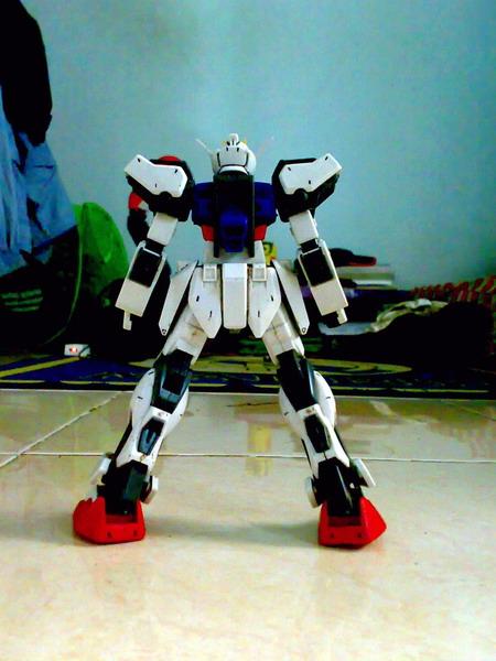 Non Grade 1/100 scale Aile Strike Gundam (5/6)