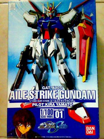 Non Grade 1/100 scale Aile Strike Gundam (1/6)