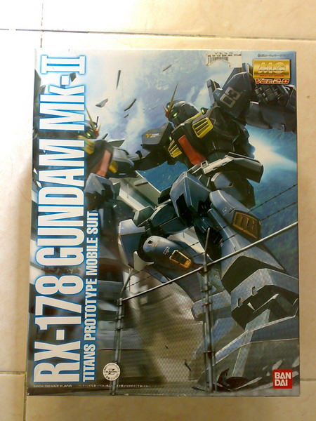 MG RX-178 Gundam Mk-II Ver.2.0 TITANS colors (1/6)