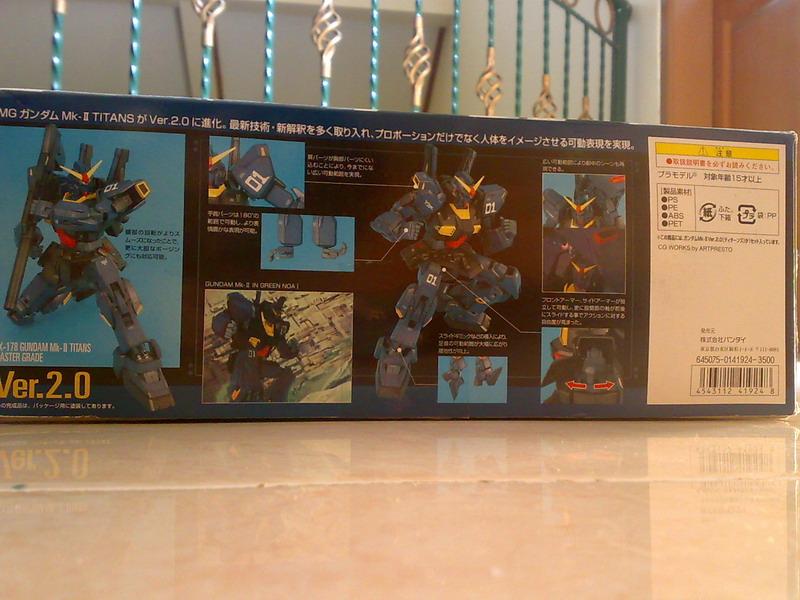 MG RX-178 Gundam Mk-II Ver.2.0 TITANS colors (3/6)