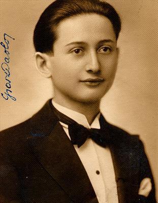 Paolo Grosz nato a Debreczen il 24/3/1914 da Carlo e Olga Stern