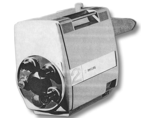Philips PC60 prototype TV camera 1964