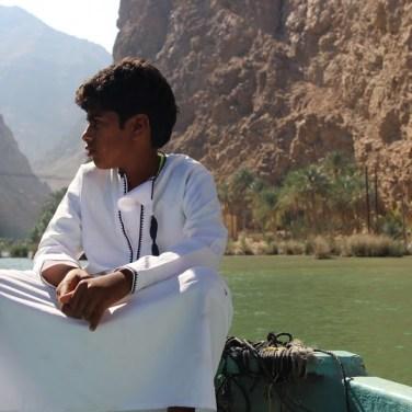 Omani Boy - Wadi Shab, Oman