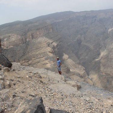 On the Edge - Jebel Shams, Oman