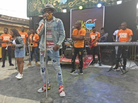 Sound Sultan at Eko Theatre Carnival 2020 - Photo By Eyes of a Lagos Boy