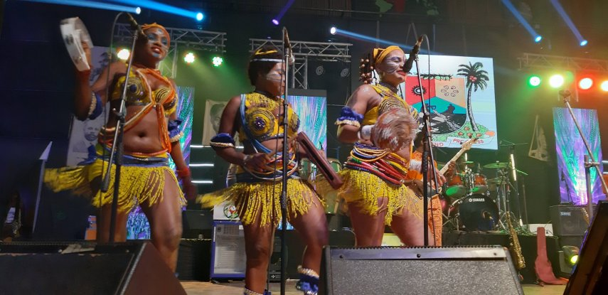 Queens of Positive Force - Felabration 2020 - Photo by Eyes of a Lagos Boy