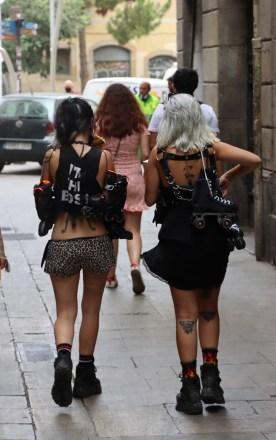 Barcelona Skater Girls
