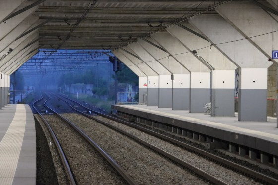 Rixensart station - Belgium