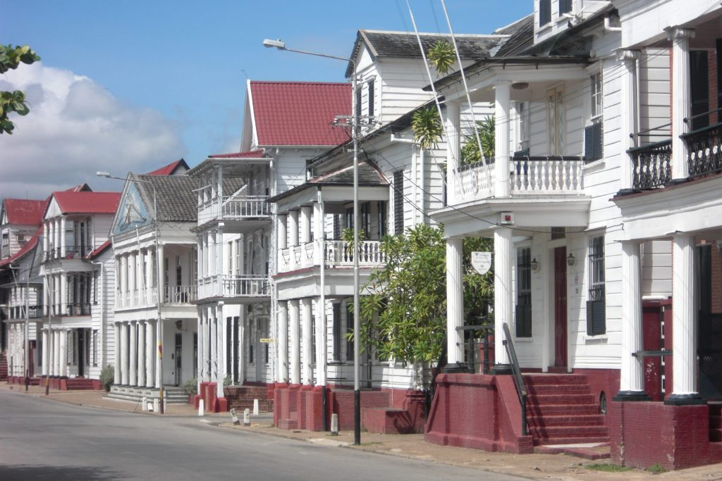 Paramaribo Colonial Houses