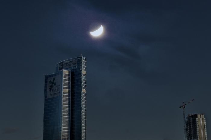 Aldo Palin Milano notturna